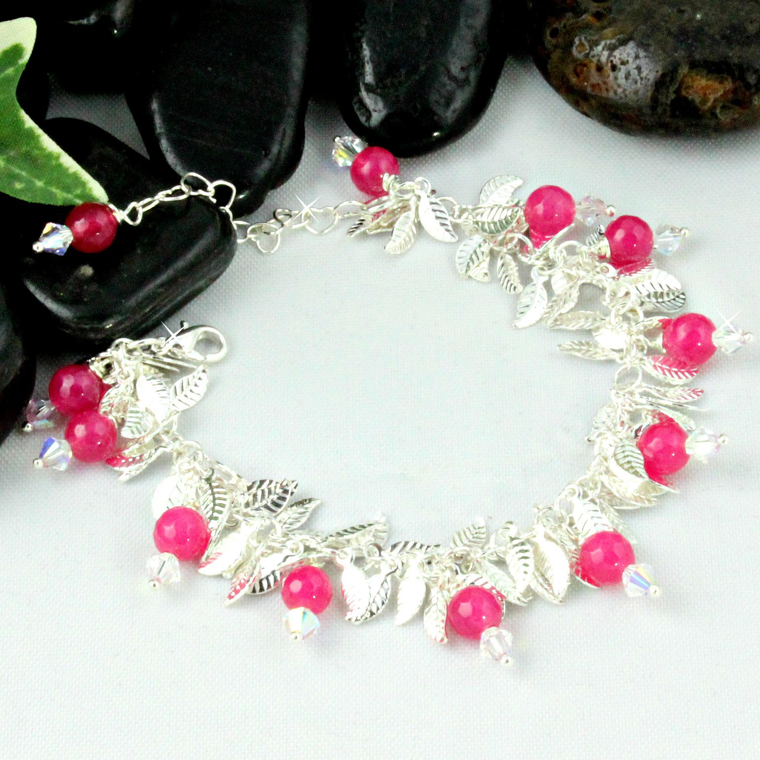 bracelet webstore sapphire type number pink silver l diamond product stone bracelets sterling jewellery h samuel category